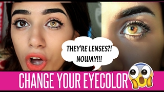 SOLOTICA LENSES: MEL/OCRE/AVELA Hidrocor & Natural Colors Comparison | DamnSheKnows