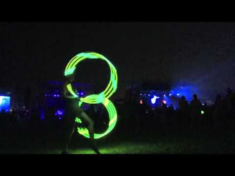 Primus - (Hula Hooper) - All Good Music Festival 2013