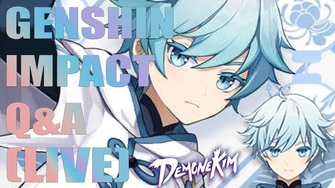 (Live) Genshin Impact Q&A - Final Beta Will Be Here Soon ...