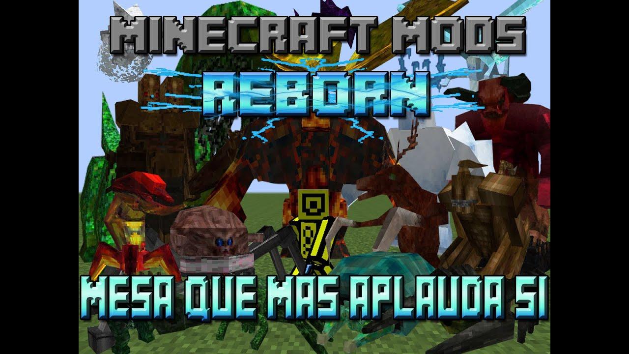 Minecraft mods reborn capitulo 37 mesa que m s aplauda si for Mesa que mas aplauda