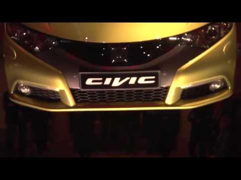 2012 Honda Civic 5D Presentation ฮอนด้า ซีวิค 5 ประตู