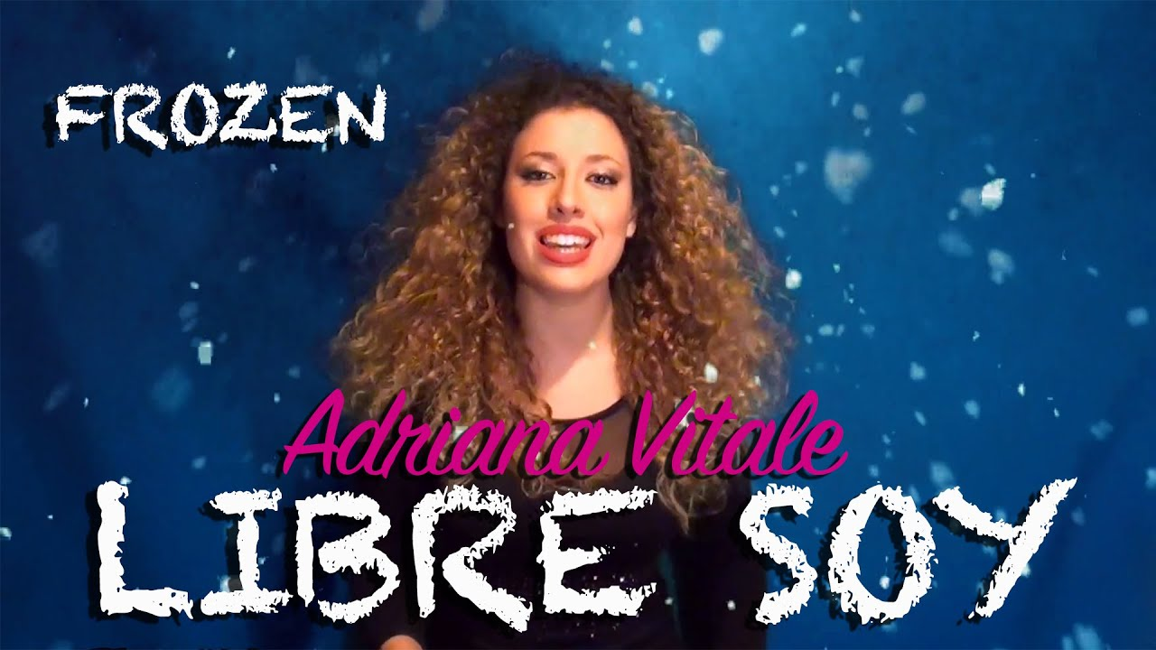 Libre Soy Martina Stoessel Libre Soy Martina Stoessel Quotfrozen Quot Cover By Adriana