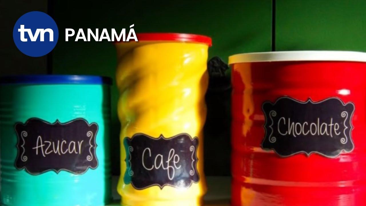 Como lo hago decoraci n con latas de leche youtube - Como decorar una cocina ...