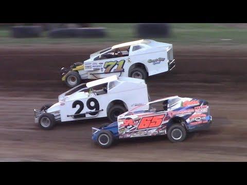 BRP Big Block Modified Heat Three | McKean County Raceway | 8-16-17