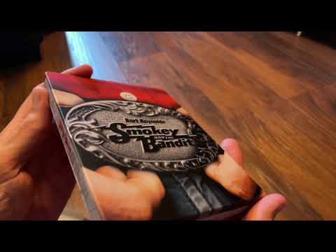 Download Smokey and the Bandit 4k UltraHD Blu-ray steelbook unboxing