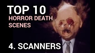 04. Scanners: Head Explosion (Top 10 Horror Movie Deaths)