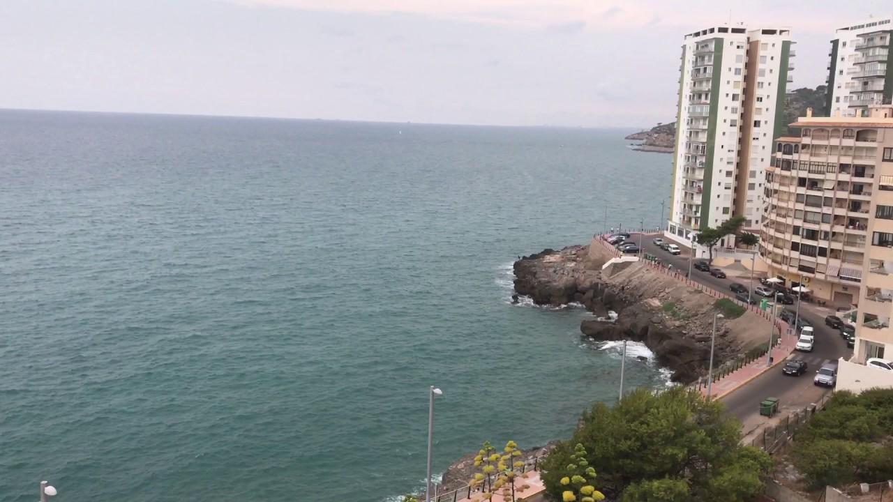 Vistas Desde La Torre Del Rey En Oropesa Del Mar