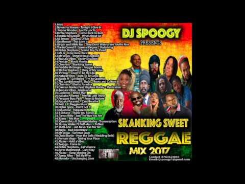 Dj Spoogy Skanking Sweet Reggae Mix 2017