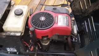 Craftsman hydromatic with flooded engine 50.00