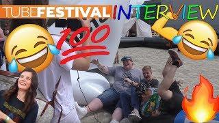 EXSL eine Freundin klären  - Tubefestival 2018 Interview