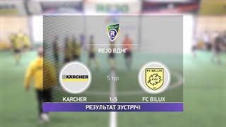 Обзор матча Karcher 1 5 FC Bilux Турнир по мини футболу в Киеве