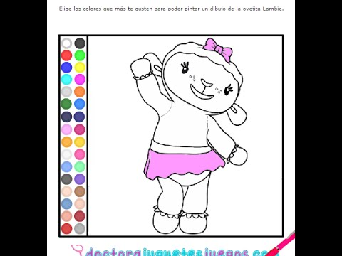 Disney Junior Games Doc McStuffins Coloring Pages - YouTube