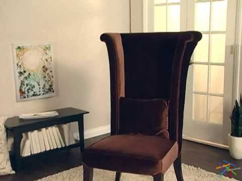 Armen Living Mad Hatter Chair - Product Review Video & Armen Living Mad Hatter Chair - Product Review Video - YouTube