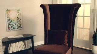 Armen Living Mad Hatter Chair - Product Review Video