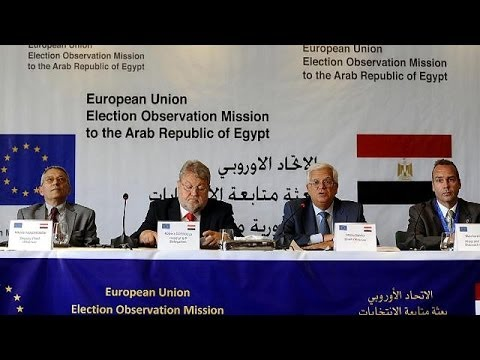 EU observers praise Egypt election as 'democratic'