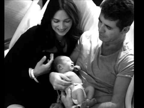 SIMON COWELL : Reveal First Pics of Newborn Son, Eric Cowell (2/16/14)