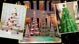 Alternative Christmas Tree Ideas - Christmas Decorations