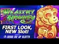 Wealthy Monkey Slot - First Look, Live Play w/Line Hits and Free Spins Bonuses