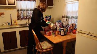 stocking the kitchen