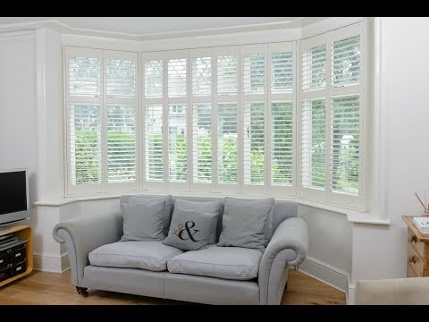 Bay Window Shutters Interior Furniture Ideas