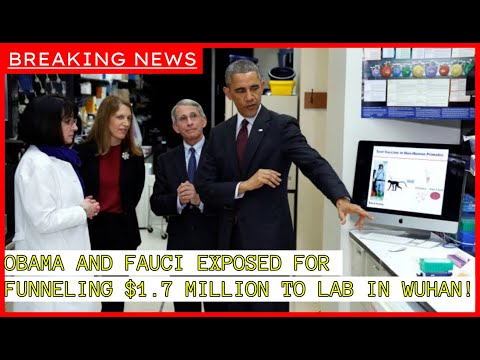 BREAKING: Obama and Fauci Sent $1.7 Million to WUHAN Lab Before Pandemic Hit!