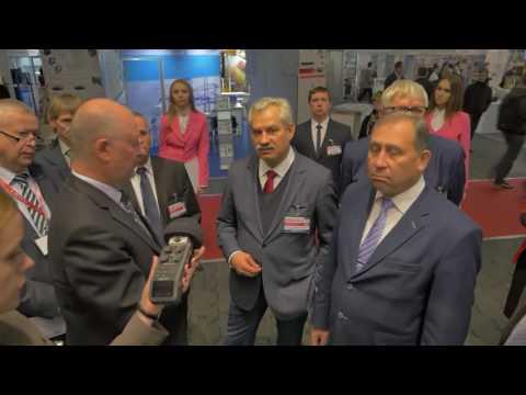 """Baltarusijos energetikos ministro vizitas Minske Sky Way stende parodoje """"Energy Expo 2016"""""""