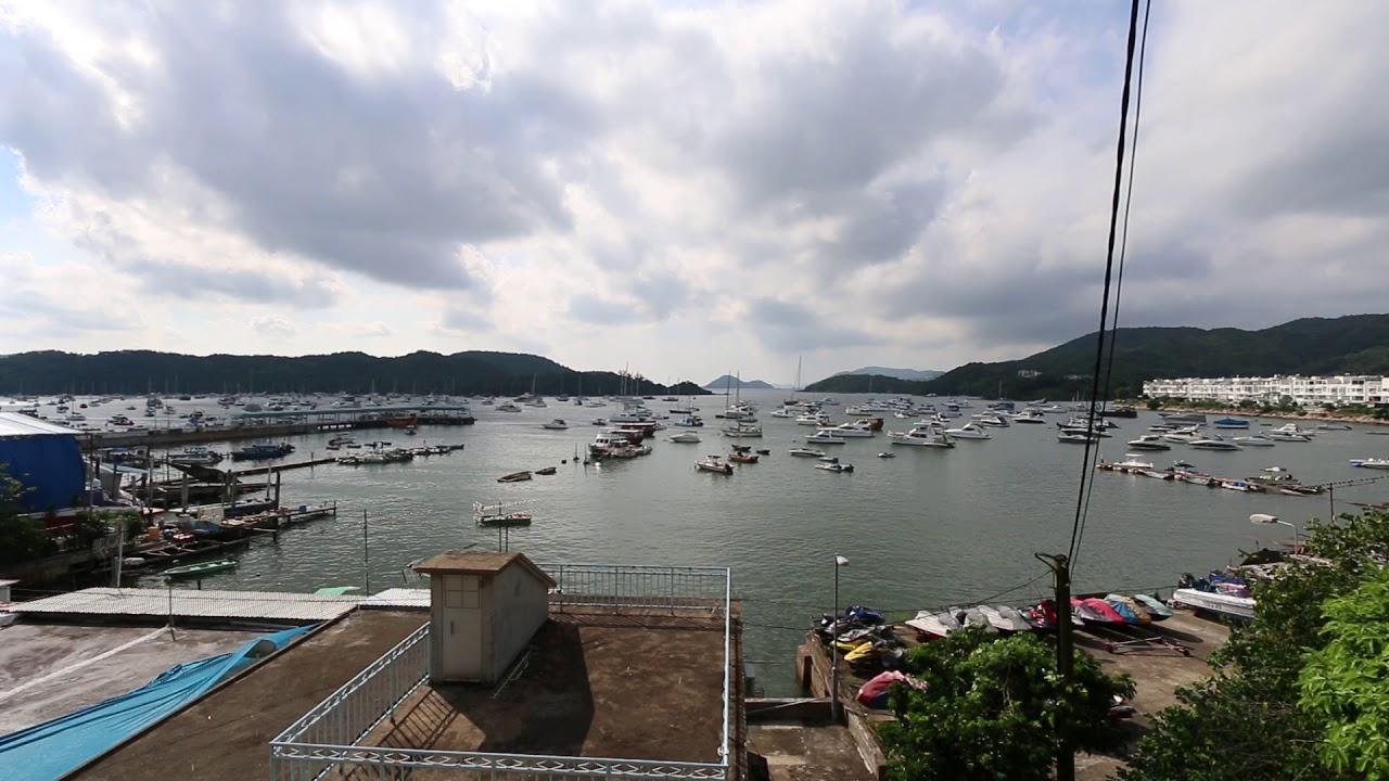 香港風景區 - 西貢白沙灣碼頭 - YouTube