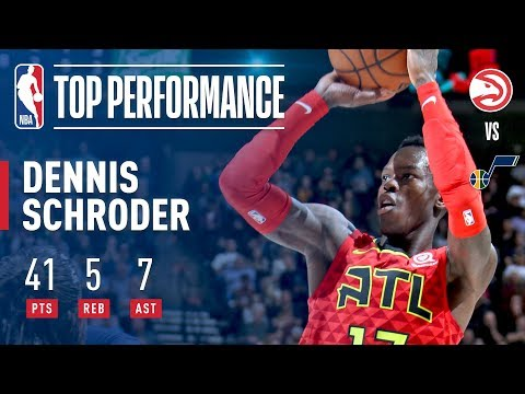 Download Youtube: Dennis Schroder's ELECTRIC Performance vs The Jazz