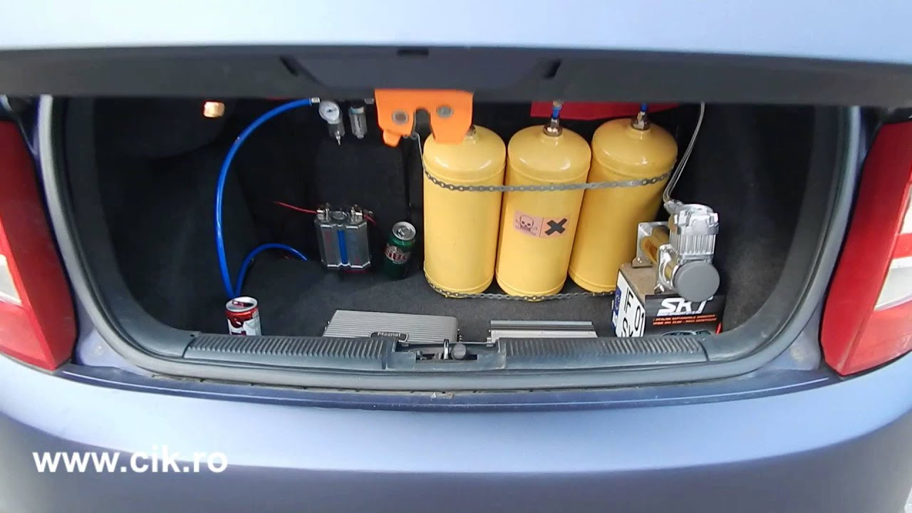 Illegal racing car NOS Nitrous Oxide System - YouTube