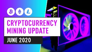 Bitcoin & Cryptocurrency Mining Industry - June 2020 Update