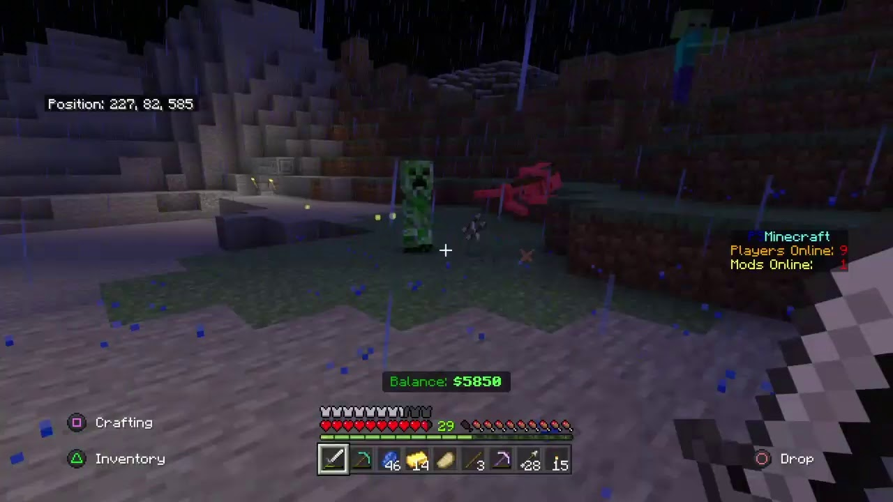Minecraft SMP on the Official Reddit PS Minecraft Realm! - YouTube