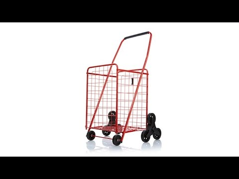 Folding Cart With Stair Climbing Wheel Technology Youtube