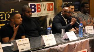 Press Conference for Black Flash Promotions May 30th Show