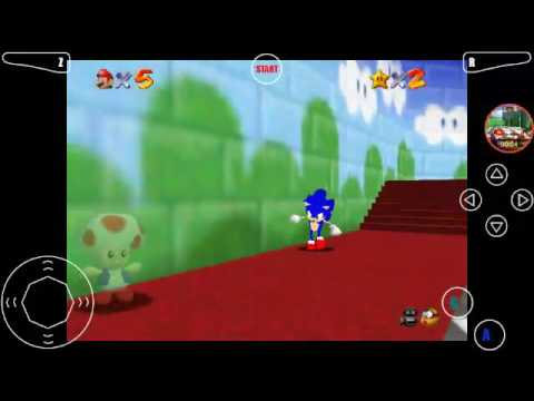 super sonic 64 rom hack download
