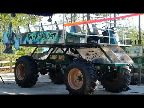 Download Youtube: Inside the NEW Stompin Gator Off-Road Adventure Ride at Gatorland