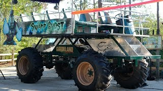 Inside the NEW Stompin Gator Off-Road Adventure Ride at Gatorland
