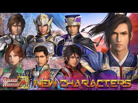 Dynasty Warriors 9 Adds Cao Xiu + 6 Returning Officers - Dynasty Warriors 8 Comparison 真・三國無双8
