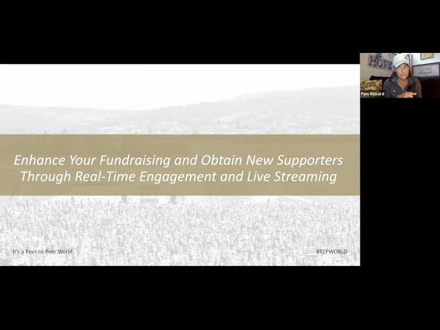 Enhance Your Fundraising And Obtain New Supporters Through Live Streaming