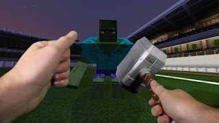 Realistic Minecraft - SUPERHERO IN REAL LIFE!