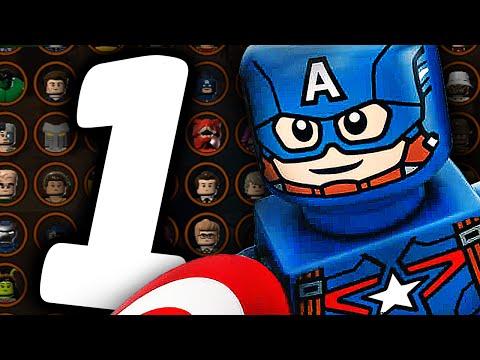 LEGO Marvels Avengers Прохождение - Часть 3 - СМЕРТЬ БАКИ