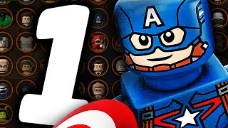 Все Персонажи - LEGO Marvel's Avengers - Часть 1