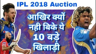 Download IPL 2018 Auction : Top 10 Unsold Players & Their Reasons In Auction Mp3 and Videos