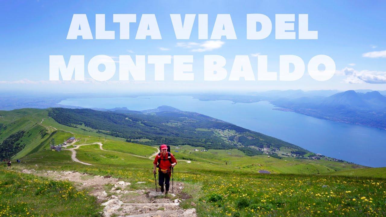 Alta Via del Monte Baldo - Lago di Garda