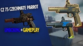 Warface - CZ 75 CZECHMATE PARROT Unboxing + small Gameplay
