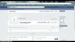 How to create a facebook page for your business or blog