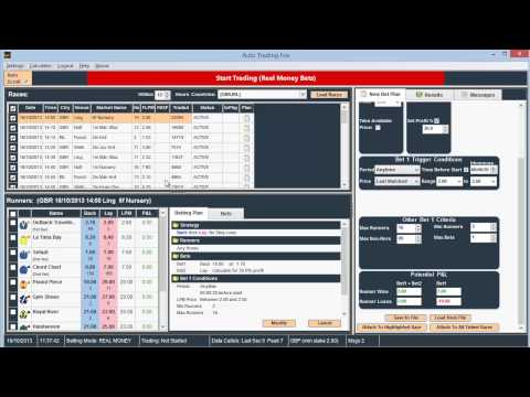 Betfair trading systems that work