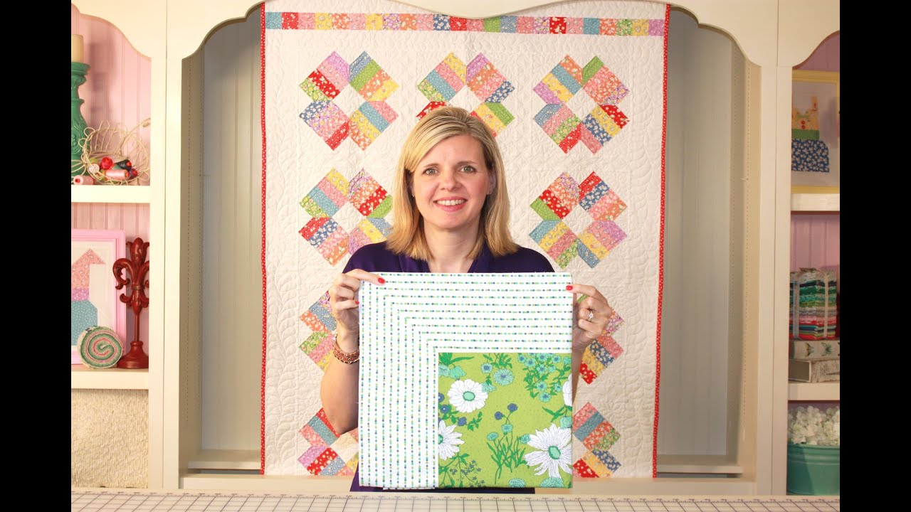 How to Miter Borders on a Quilt - Fat Quarter Shop - YouTube : mitered quilt borders easy - Adamdwight.com