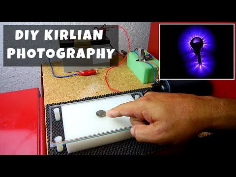DIY Kirlian Photography(FULL PROJECT DETAILS)