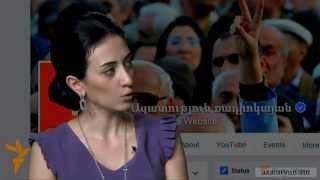 Ֆեյսբուքյան ասուլիս ԱԺ պատգամավոր Արփինե Հովհաննիսյանի հետ