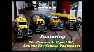1947 Narrow Nose Kenworth Truck Signal Oil Tanker
